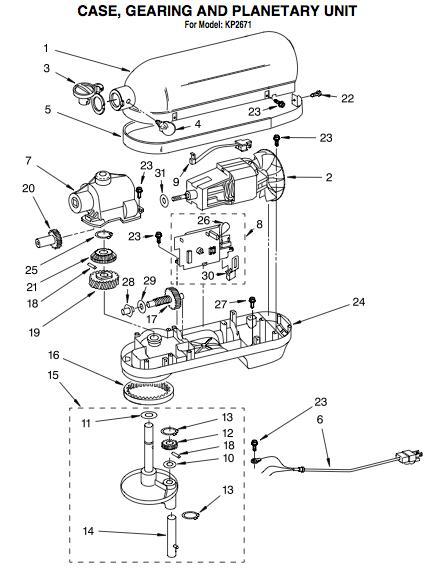 kitchenaid blender clutch replacement - kitchen design